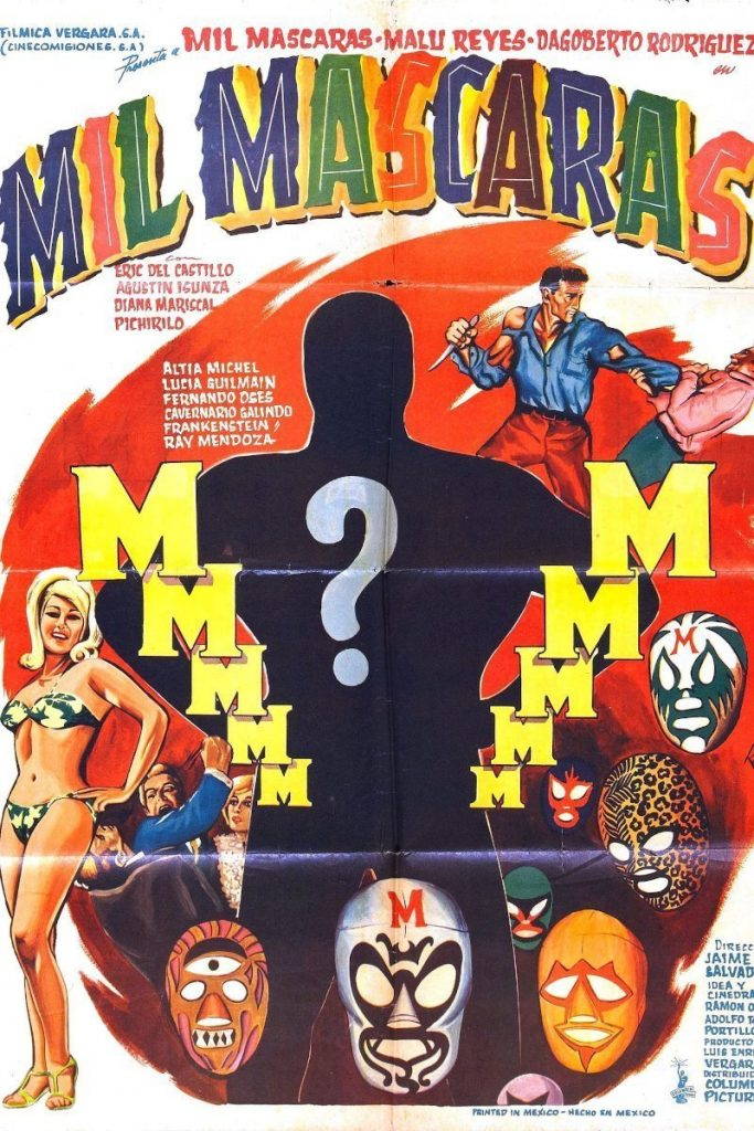 Lucha Cinema: Mil Mascaras (1969)