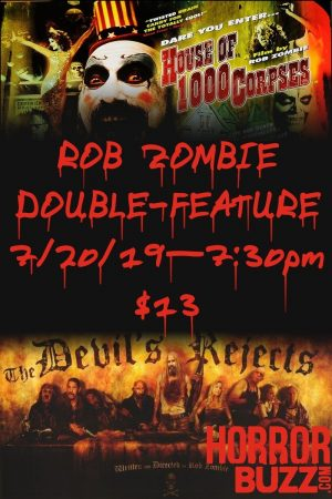 Rob Zombie Double Feature poster