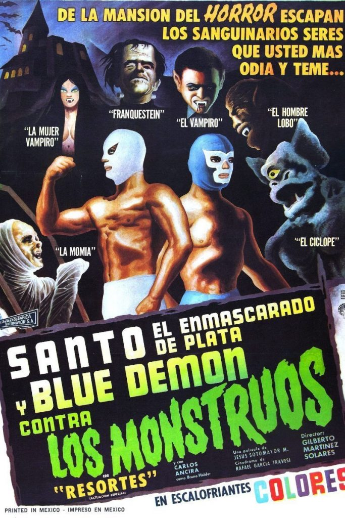Lucha Cinema: Santo y Blue Demon Contra Los Monstruous (1970)