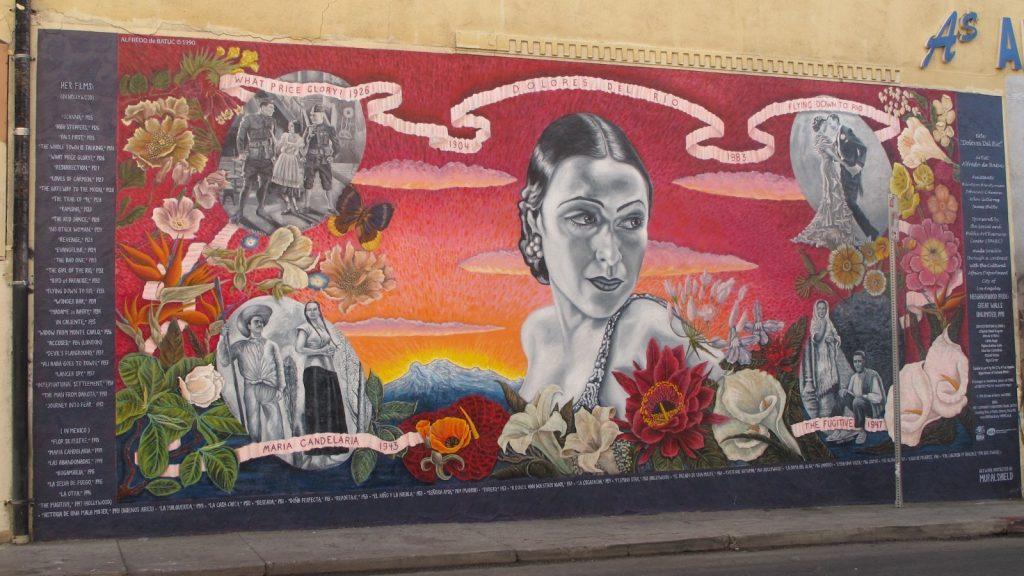 Mural of Dolores del Rio
