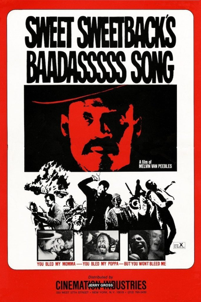 Sweet Sweetbacks Baadasssss Song poster