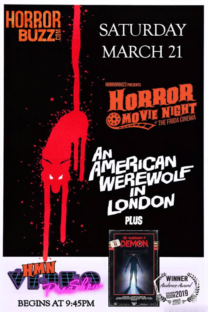 HorrorBuzz American Werewolf in London