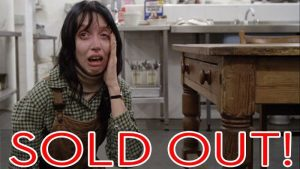 """TONIGHT'S DRIVE-IN PRESENTATION OF """"THE SHINING"""" IS SOLD OUT"""