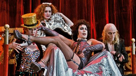 THE ROCKY HORROR PICTURE SHOW - DRIVE-IN AT MESS HALL MARKET, TUSTIN