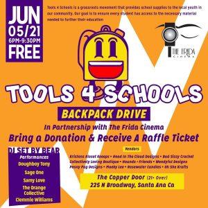Tools 4 Schools Backpack Drive