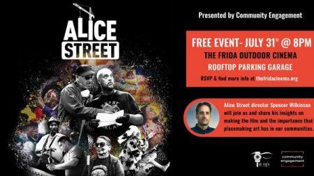 ALICE STREET - The Frida Outdoor Cinema