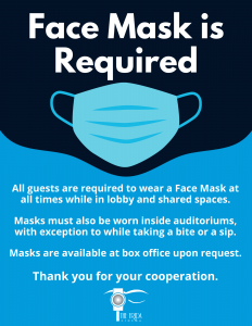 Face Mask Policy Update